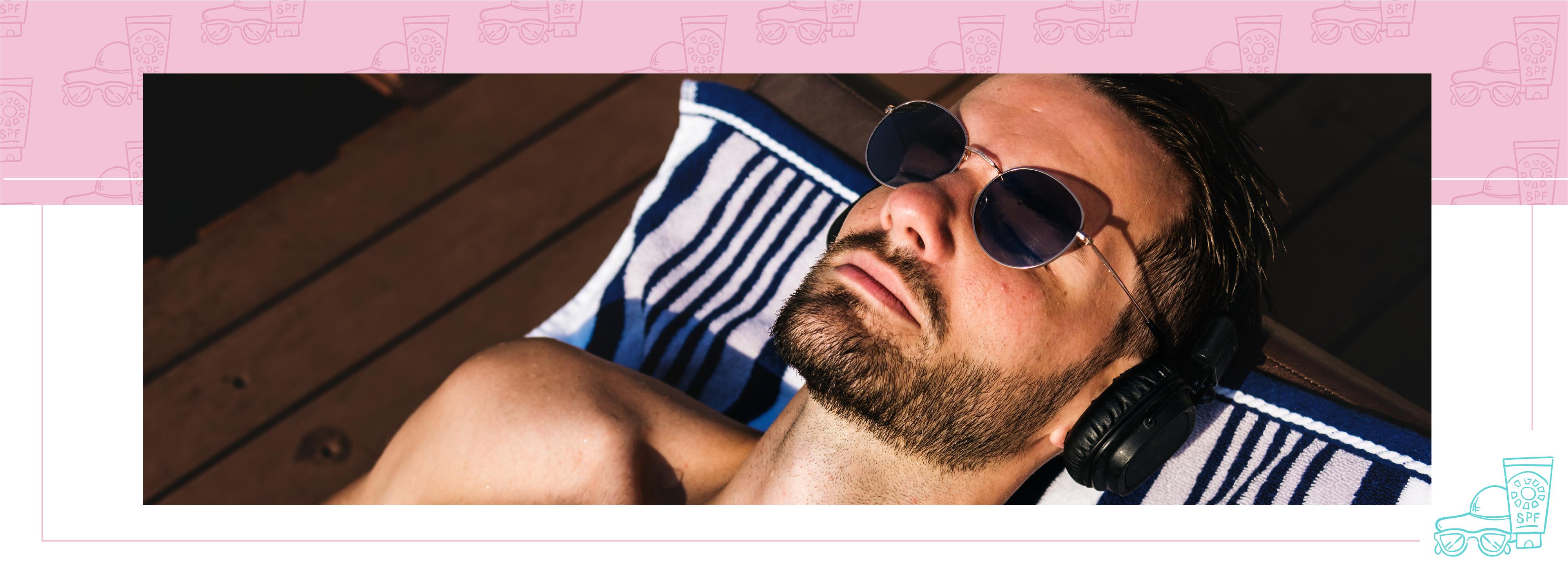 Beauty case uomo: consigli e prodotti di bellezza per lui in spiaggia